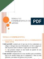 TEMA 2. COMPRAVENTA