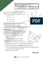 Devoir de Contrôle N°6 - Math - 2ème Sciences (2014-2015) Mr Meddeb Tarek.pdf