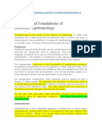 Philosofical_Foundations_of_Research_-Epistemology
