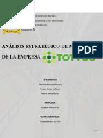 PEP marketing III - Análisis estraté️gico Tottus