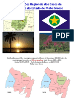 Hanseníase em Mato Grosso - 2011