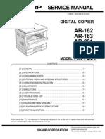 SHARP AR-162-163-201-206-207