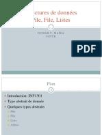 Structures de données Listes et Piles