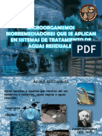 TRATAMIENTO BIOLOGICO AGUAS RESIDUALES