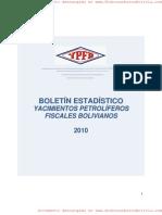 YPFB Boletin Estadístico 2010