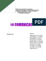 SIGNIFICADO DEL PROCESO DE COMUNICACIÓN HUMANA