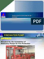Firewater Pump Presentation