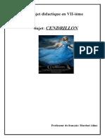 Projet didactique en VII cendrillon
