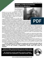 Comunicado sobre las torturas a los presos en carcel de Mendoza