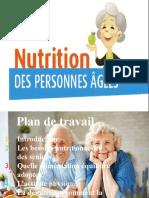 la nutriion et les personnes aggées