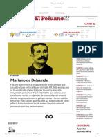 Mariano de Belaunde