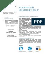 RPP IPA klasifikasi makhluk hidup