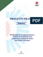 RelazioneFinaleStaProdotti da forno, Lievito a pasta acida (1)