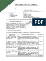 CONTEXTUALIZACION DEL MODULO  DE electronica automotriz