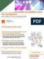Orange - Vision opérateur 5G
