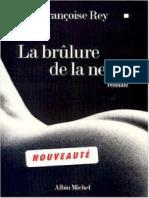La brulure de la neige - Francoise Rey.pdf