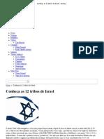 Conheça as 12 tribos de Israel - Restaurando Israel