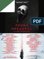 Penny Dreadful Season 2 & 3 Booklet