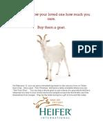 Heifer Goat 0211