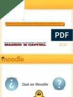 Introducción a Moodle en el aula virtual de educamdrid