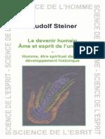 Steiner Rudolf - Le devenir humain Ame et esprit de l'univers.pdf