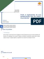 Etude et implantation du lean manufacturing