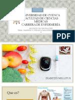 Diabetes y Cuidados para prevenir  el Covid 19