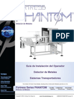 Detector de metales - FORTRESS SERIE PHANTOM