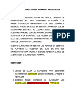 CASO LA ESPAÑOLA CASADA CON EL ROMANO Y ABANDONADA.docx
