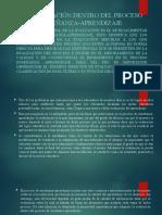 Evaluacion procesos educativos doce de octubre