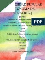 ACTIVIDAD  #2 POLÍTICA DE FINANCIAMIENTO EDUCATIVO
