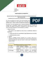 ORIENTACOES AO CANDIDATO - PROCESSO SELETIVO 2021