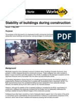 Stability of Buildings During Construction
