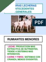 Cabras Lecheras Antecedentes Generales