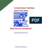 Speed Quickness Training Series