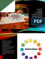 cómo elegir colores para crear armonía de colores
