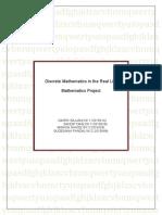 discrete mathematics in the real life f   1