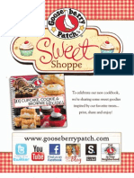 Gooseberry Patch Sweet Shoppe Collection
