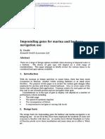 Impounding Gates for Marina & Harbour