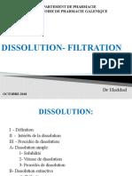 7- Dissolution - Filtration