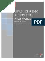 Analisis de Riesgo de Proyectos Informaticos