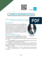 Class 11 Maths NCERT Textbook Chapter 13 Limits and Derivatives.pdf