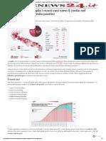 Coronavirus, in Puglia i nuovi casi sono 8 (sette nel barese). Meno di 2mila positivi - Leccenews24.pdf