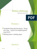 Online LifeGroup