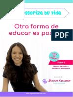 Tema 4 Montessoriza tu vida Miriam Escacena