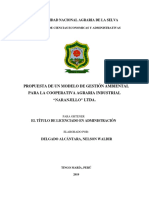 GESTION AMBIENTAL COOPERARIVA AGRARIA NARANJILLO