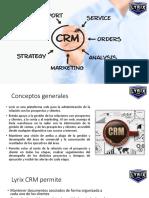 Presentación Lyrix CRM