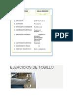 EJERCICIOS DE TOBILLO