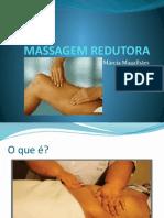 MASSAGEM REDUTORA aula turma massagista