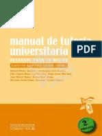 Manual de Tutoría Universitaria.